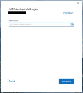 Passworteingabe Variante 2